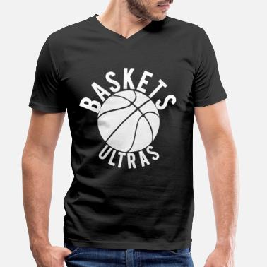 Basket baskets - Men's Organic V-Neck T-Shirt