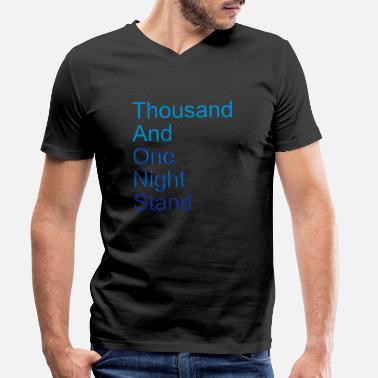 Fable thousand and one night stand (2colors) - Men's Organic V-Neck T-Shirt