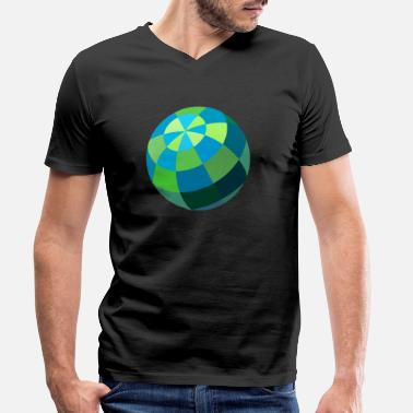 Ball ball - Men's Organic V-Neck T-Shirt