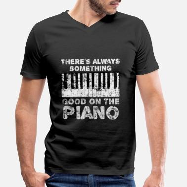 Piano Piano Piano - Men's Organic V-Neck T-Shirt