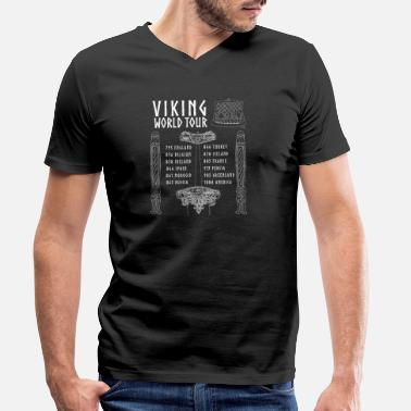 Viking Viking Early Middle Ages reenactment - Men's Organic V-Neck T-Shirt