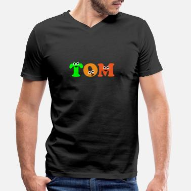 Tom Tom - Men's Organic V-Neck T-Shirt