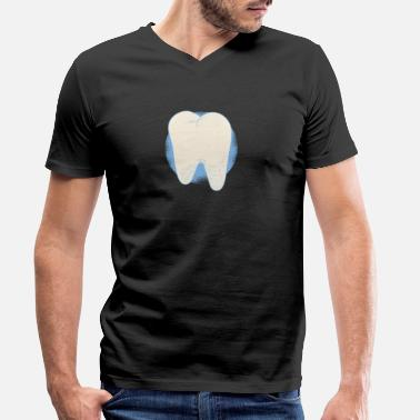 Tooth Fairy Tooth fairy - Men's Organic V-Neck T-Shirt by Stanley & Stella