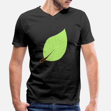 Leaf leaf - Men's Organic V-Neck T-Shirt