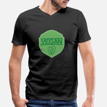 Health Vegan Health Protection des animaux - T-shirt bio col V Homme