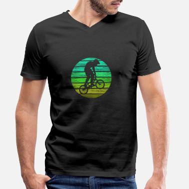 Teenager BMX - Men's Organic V-Neck T-Shirt