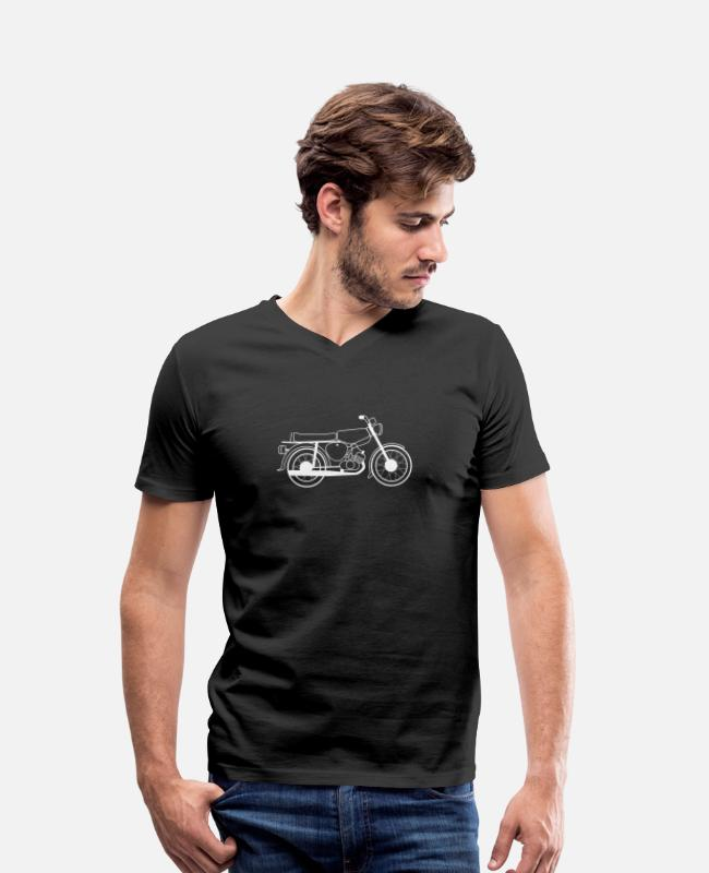 Two-stroke T-Shirts - Simson S51 Gift Shirt Simson Driver - Men's Organic V-Neck T-Shirt black