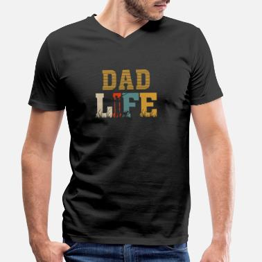 Dad Of The Dad Life - Men's Organic V-Neck T-Shirt