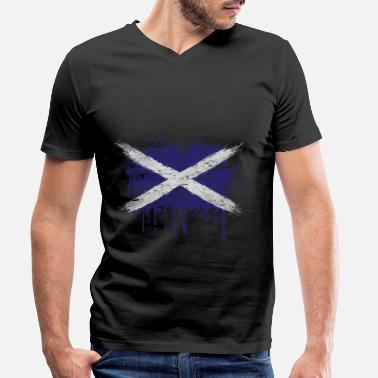 Scotland Scotland - Men's Organic V-Neck T-Shirt