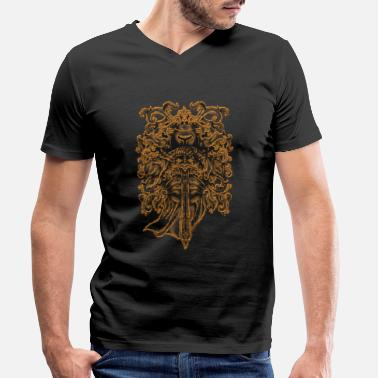 Orders Of Chivalry Knight Medieval knightly order gift - Men's Organic V-Neck T-Shirt