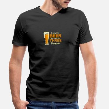 Belly Beer Saufen Party Alcohol Beer Tent Beer Garden - Men's Organic V-Neck T-Shirt