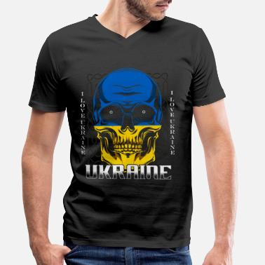 Ukraine Ukraine - Men's Organic V-Neck T-Shirt