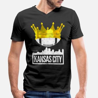 Kansas City Chiefs Kansas city - Men's Organic V-Neck T-Shirt