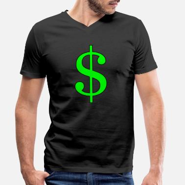 Dollar dollar - Men's Organic V-Neck T-Shirt by Stanley & Stella