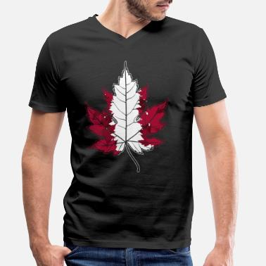 Home Country Canada home country - Men's Organic V-Neck T-Shirt