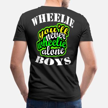 Wheelie Wheelie - Men's Organic V-Neck T-Shirt