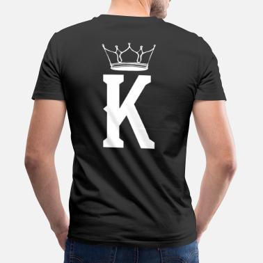 King King Crown / King Queen Duo - Men's Organic V-Neck T-Shirt