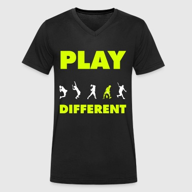 PLAY DIFFERENT - T-shirt ecologica da uomo con scollo a V di Stanley & Stella