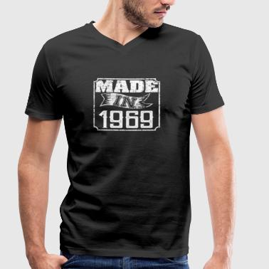 Made in 1969 - Men's Organic V-Neck T-Shirt by Stanley & Stella