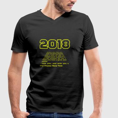 2018 SF Trailer, by SBDesigns - Men's Organic V-Neck T-Shirt by Stanley & Stella