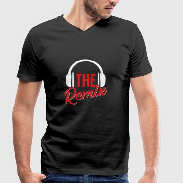 The Original The Remix T Shirt - Men's Organic V-Neck T-Shirt by Stanley & Stella
