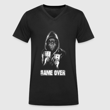 ACAB - GAME OVER - T-shirt bio col V Stanley & Stella Homme