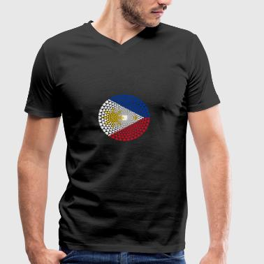 Philippines Philippines Pilipinas Love Mandal - Men's Organic V-Neck T-Shirt by Stanley & Stella
