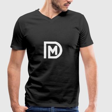 DM LOGO - Men's Organic V-Neck T-Shirt by Stanley & Stella