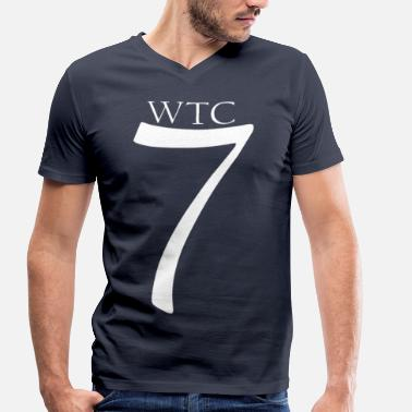 World Trade Centre World Trade Center 7 - Men's Organic V-Neck T-Shirt by Stanley & Stella