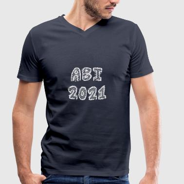 2021 Abi 2021 shirt - Men's Organic V-Neck T-Shirt by Stanley & Stella