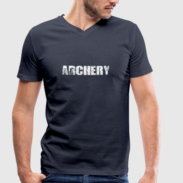 Archery - Archery - Men's Organic V-Neck T-Shirt by Stanley & Stella
