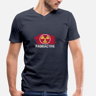 Radioactivity radioactive - Men's Organic V-Neck T-Shirt by Stanley & Stella