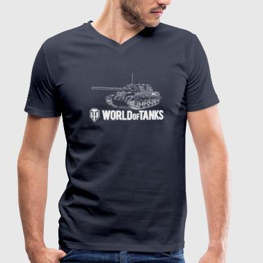 World of Tanks Jagdtiger Men Sweater - Økologisk T-skjorte med V-hals for menn fra Stanley & Stella