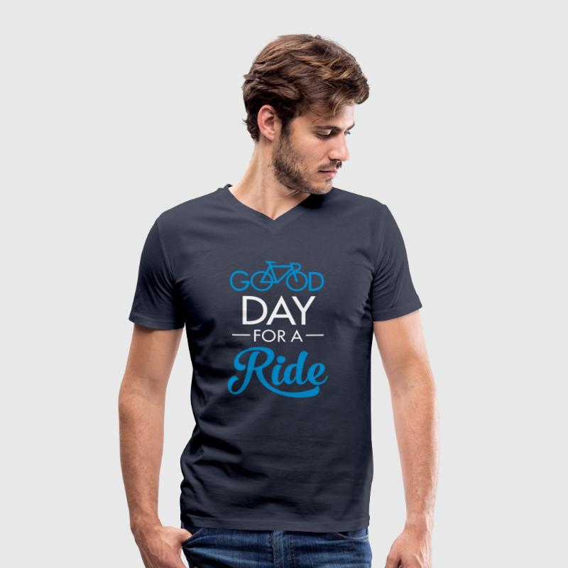 Good Day For A Ride - T-shirt bio col V Stanley & Stella Homme
