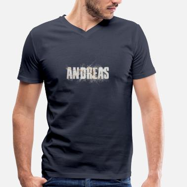Andreas Andreas - T-shirt bio col V Stanley & Stella Homme