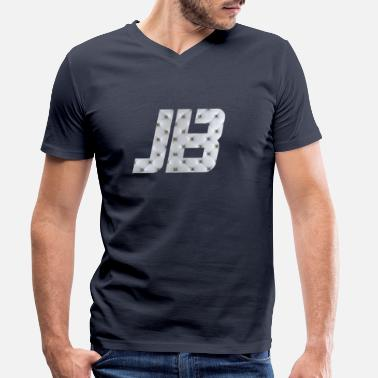 Jb JB - Men's Organic V-Neck T-Shirt