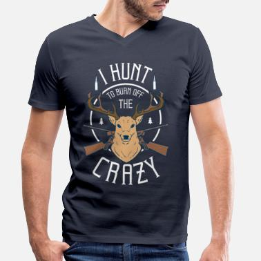 Hunting To hunt - Men's Organic V-Neck T-Shirt