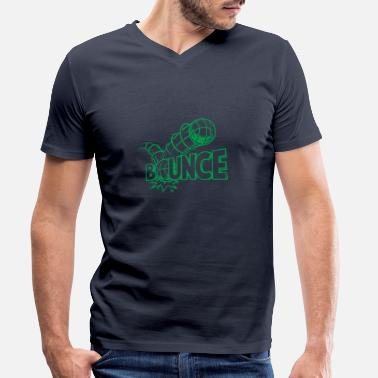 Bounce BOUNCE - Men's Organic V-Neck T-Shirt
