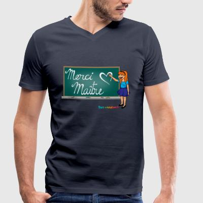 Thank you gift - end of year gift - Men's Organic V-Neck T-Shirt by Stanley & Stella