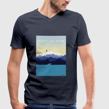Protect Nature - Men's Organic V-Neck T-Shirt by Stanley & Stella