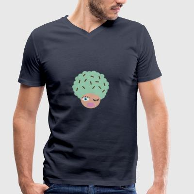 Ice cream - Men's Organic V-Neck T-Shirt by Stanley & Stella