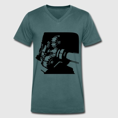 Gearbox - Men's Organic V-Neck T-Shirt by Stanley & Stella