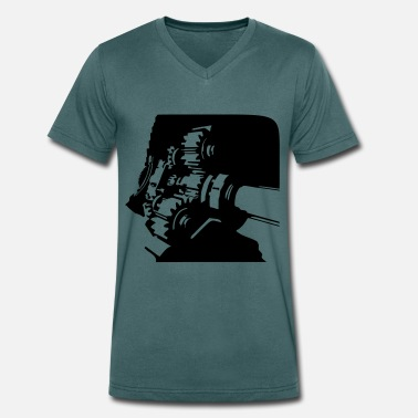 Gearbox Gearbox - Men's Organic V-Neck T-Shirt by Stanley & Stella