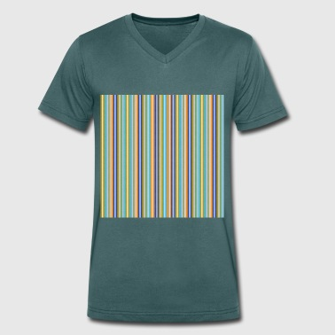 A summer in Varcaturo - Men's Organic V-Neck T-Shirt by Stanley & Stella