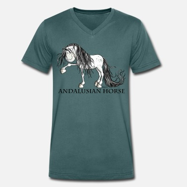 Horse Andalusian Horse - T-shirt bio col V Stanley & Stella Homme