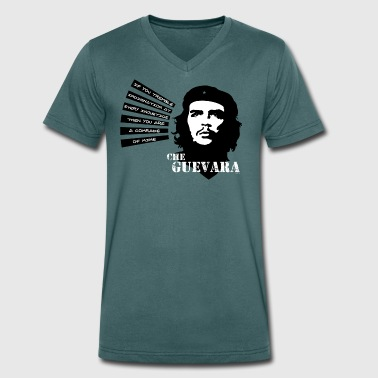 Che Guevara If you tremble with Indignation Wome - Camiseta ecológica hombre con cuello de pico de Stanley & Stella