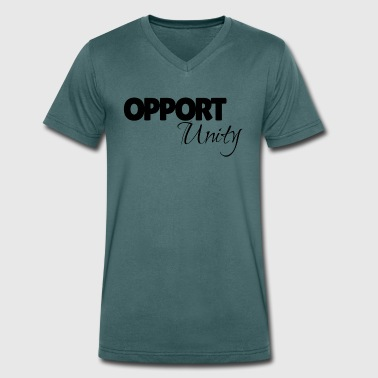 Opportunity - Men's Organic V-Neck T-Shirt by Stanley & Stella