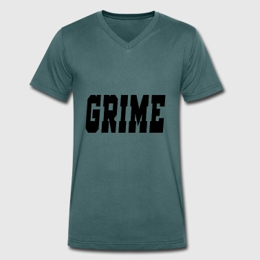 Grime Music grime - Men's Organic V-Neck T-Shirt by Stanley & Stella