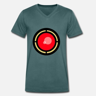 Armageddon Eye of Armageddon - Men's Organic V-Neck T-Shirt by Stanley & Stella