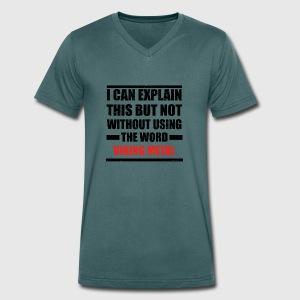 Manner Bio T Shirt Mit V Ausschnitt Von Stanley Stella